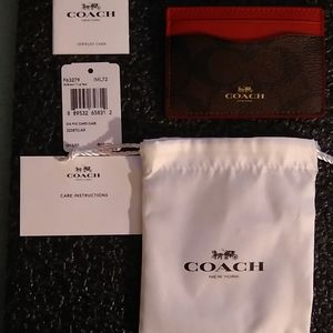 NWT Coach small wallet